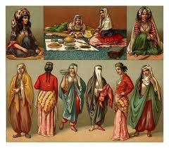 Indumentaria de las mujeres Persas