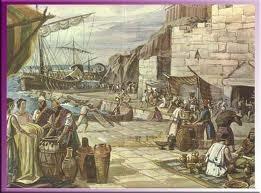 El comercio de los Fenicios